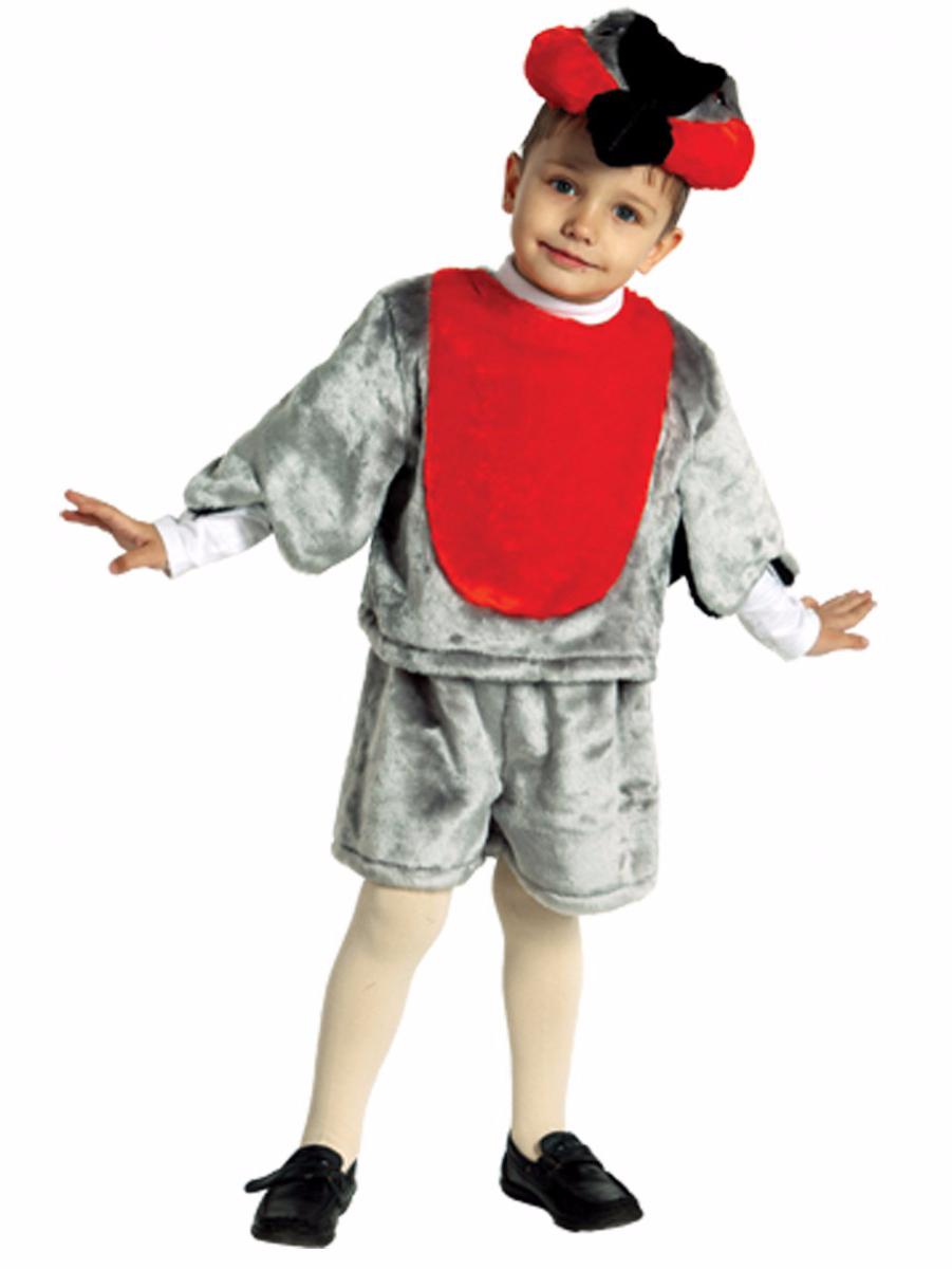 Выкройка костюма снегиря для мальчика своими руками